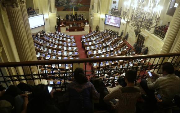 Palco Congreso de la República