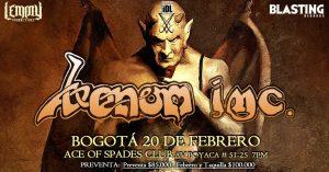Venom inc en Bogotá @ Ace of Spades - Club