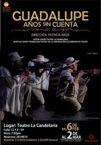 Guadalupe años sin cuenta @ Teatro La Candelaria