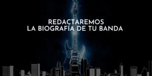 Biografías para bandas