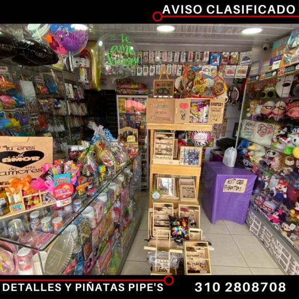 Detalles y Piñatas Pipe's